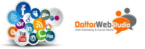Social Media Marketing con Logo DottorWebStudio