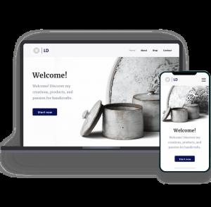 Siti Web Responsive su Laptop e Smartphone